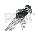 9PCS LONG HEX L-WRENCH SET 7100-2A9