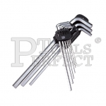 9PCS EXTRA LONG HEX L-WRENCH SET 7100-3A9