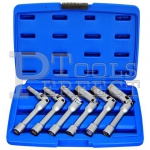 "6PCS 3/8""DR. JOINTED GLOW PLUG SOCKET SET ( WITH CLIP )