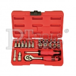 "1/4""DR. 21PCS SOCKET SET