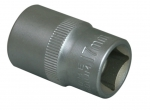 "1/4""DR. 6PT SOCKET ALL STAIN FINISH WITH KNURLED