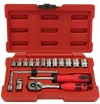 "1/4""DR. 17PCS SOCKET SET