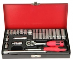 "1/4""DR. 24PCS SOCKET SET