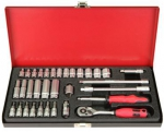 "1/4""DR. 33PCS SOCKET SET