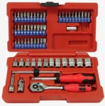 "1/4""DR. 58PCS SOCKET SET